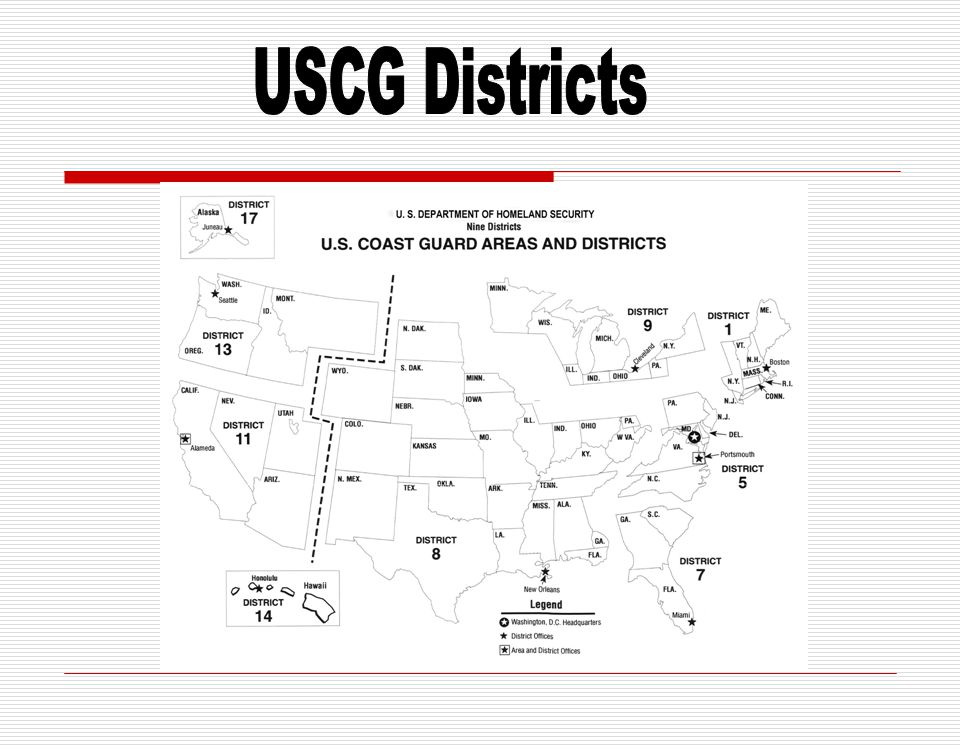 USCG Districts