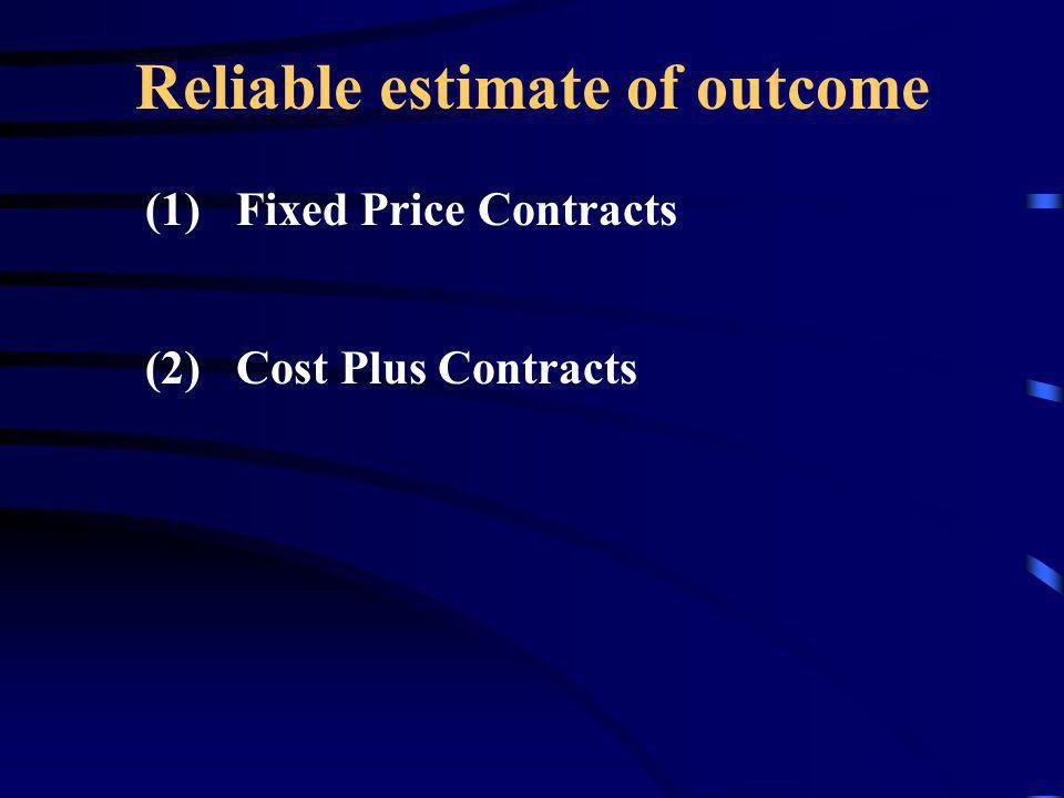 Reliable estimate of outcome