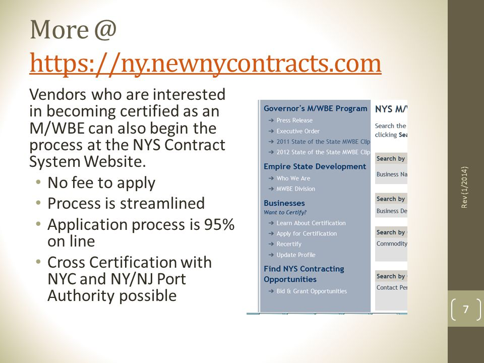 More @ https://ny.newnycontracts.com