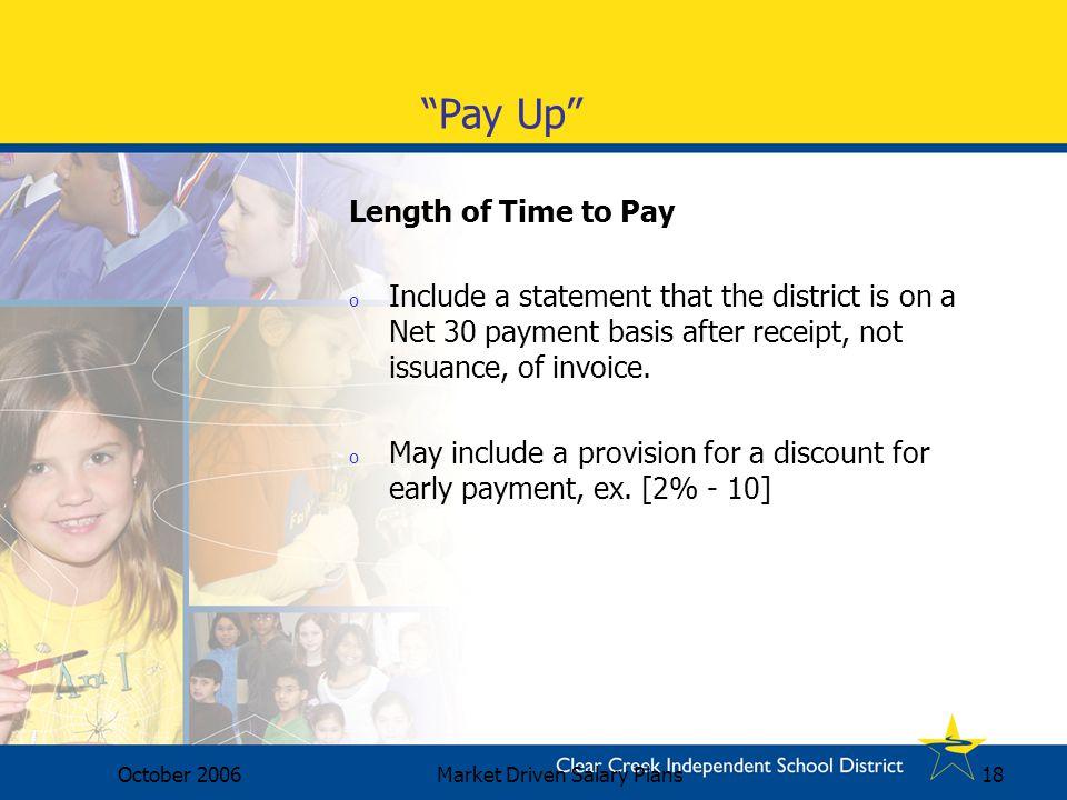 Market Driven Salary Plans