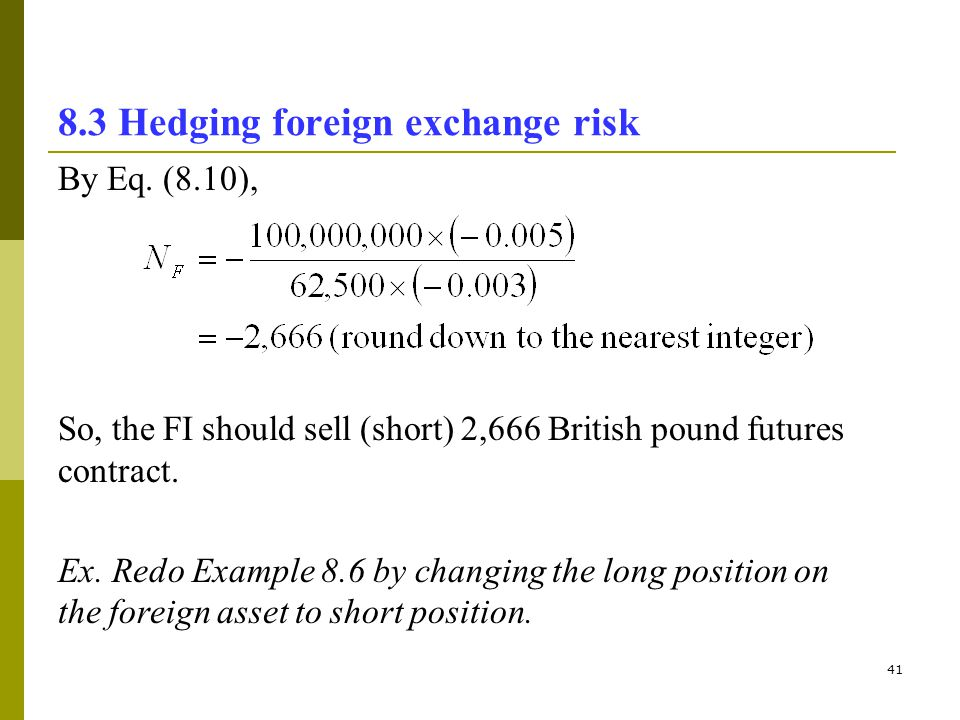 foreign exchange risk essay