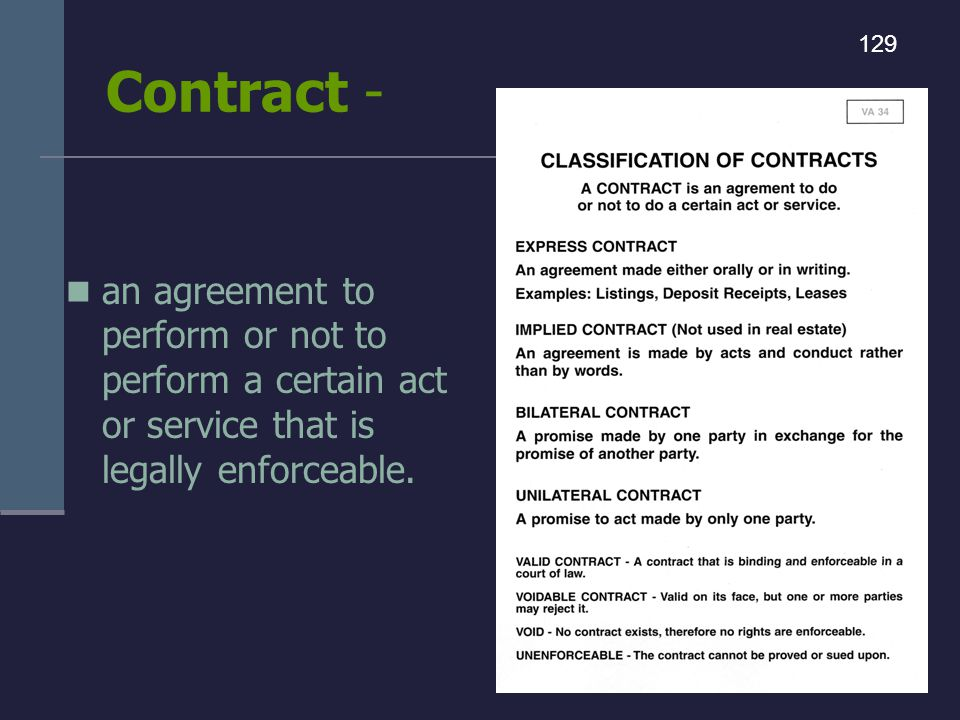 Contract - 129.