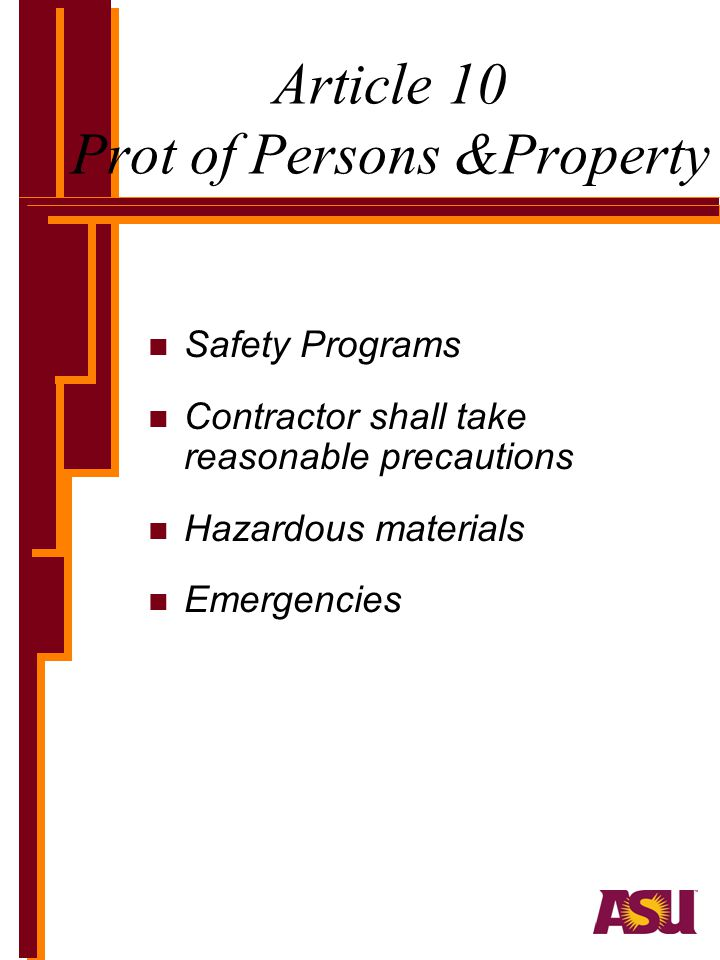 Article 10 Prot of Persons &Property