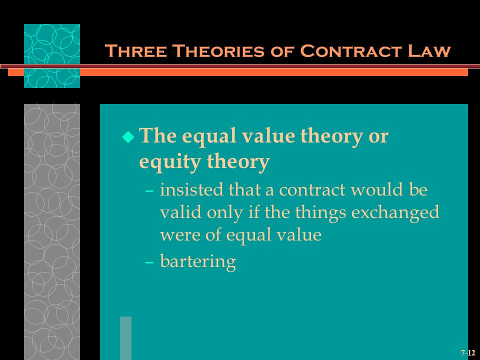Three Theories of Contract Law