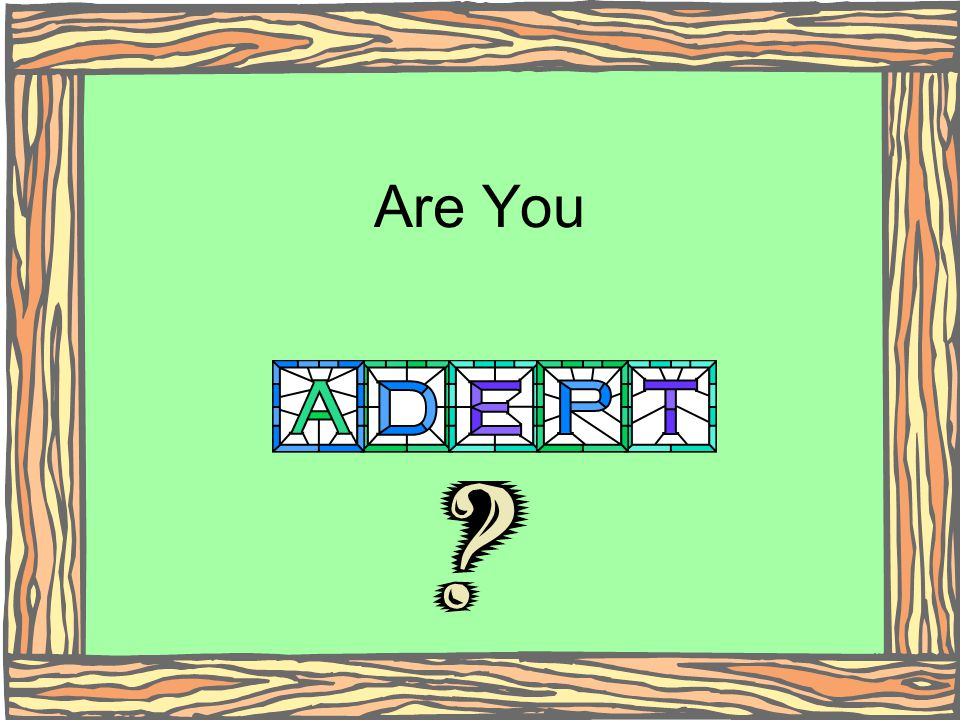 Are You (Click)