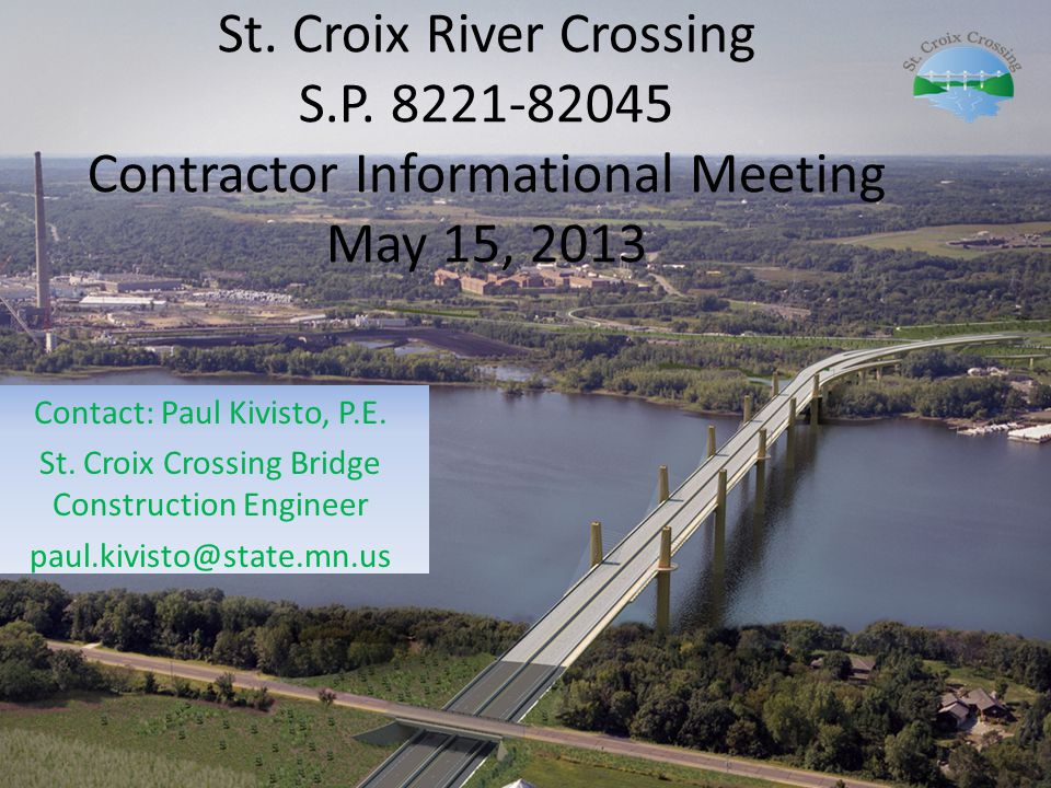 St. Croix River Crossing S. P