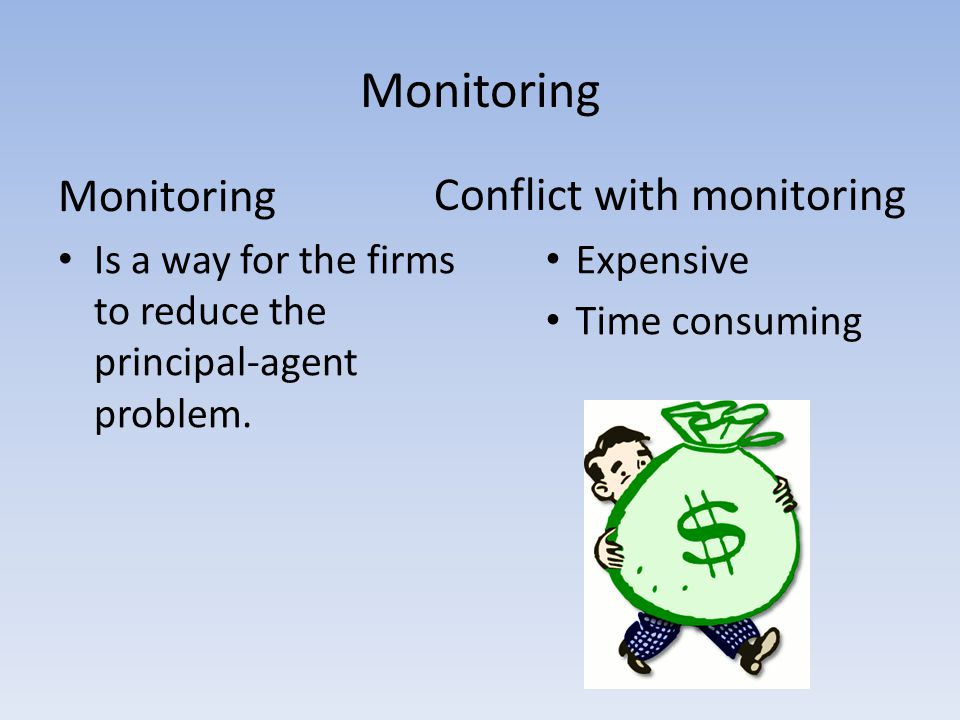 Monitoring Monitoring Conflict with monitoring