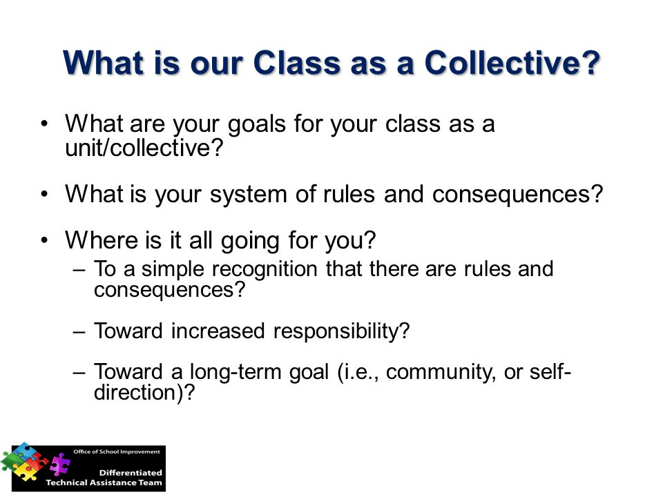 What is our Class as a Collective
