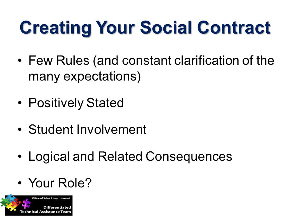 Creating Your Social Contract