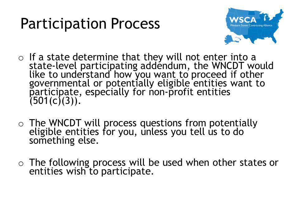 Participation Process