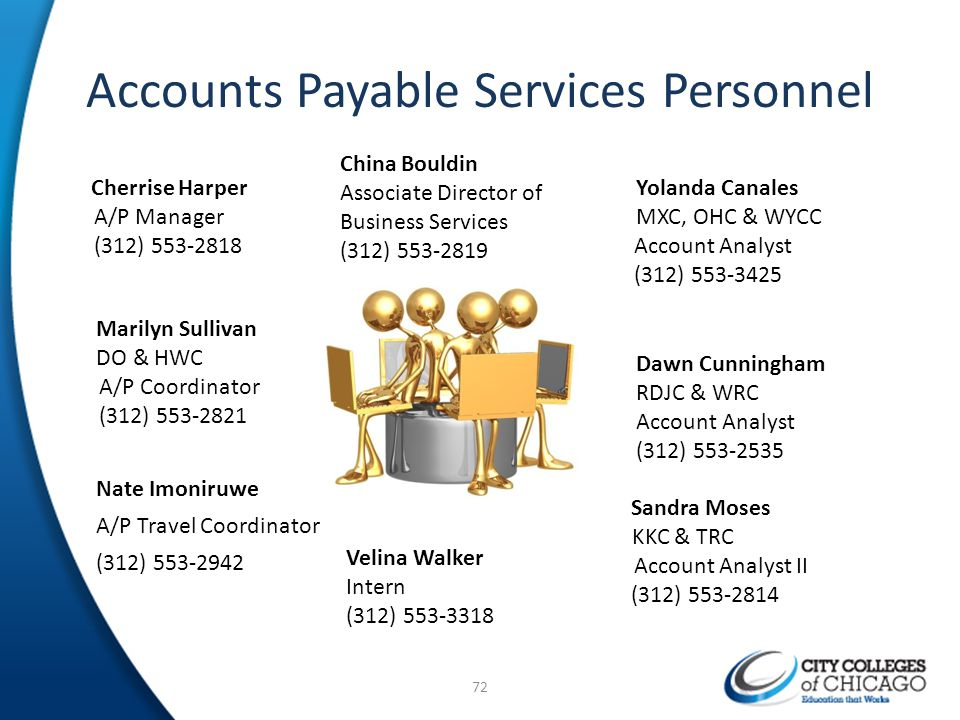 Accounts Payable Services Personnel