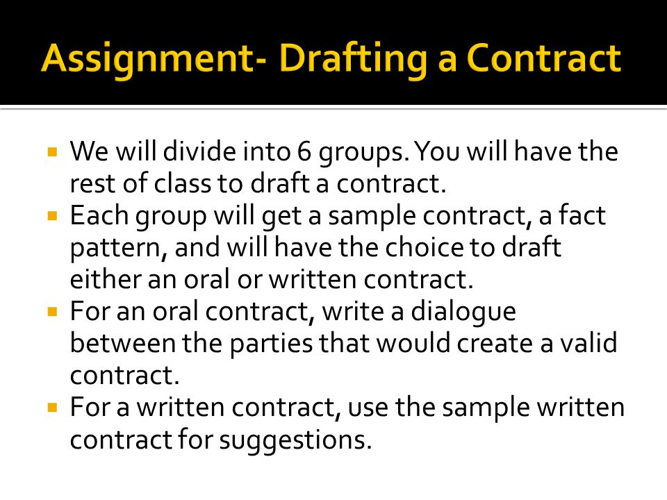 Contracts Street Law  Ppt Video Online Download