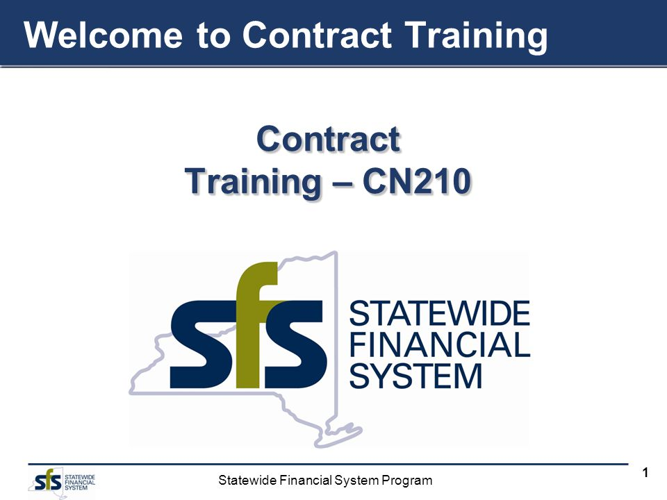 Welcome to Contract Training