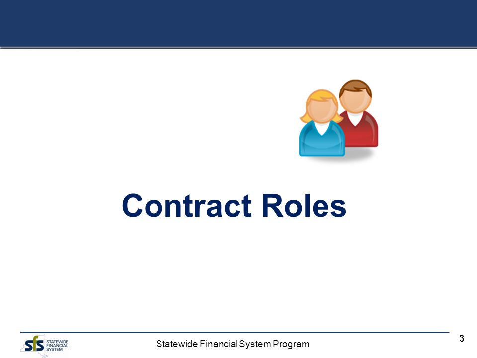Contract Roles