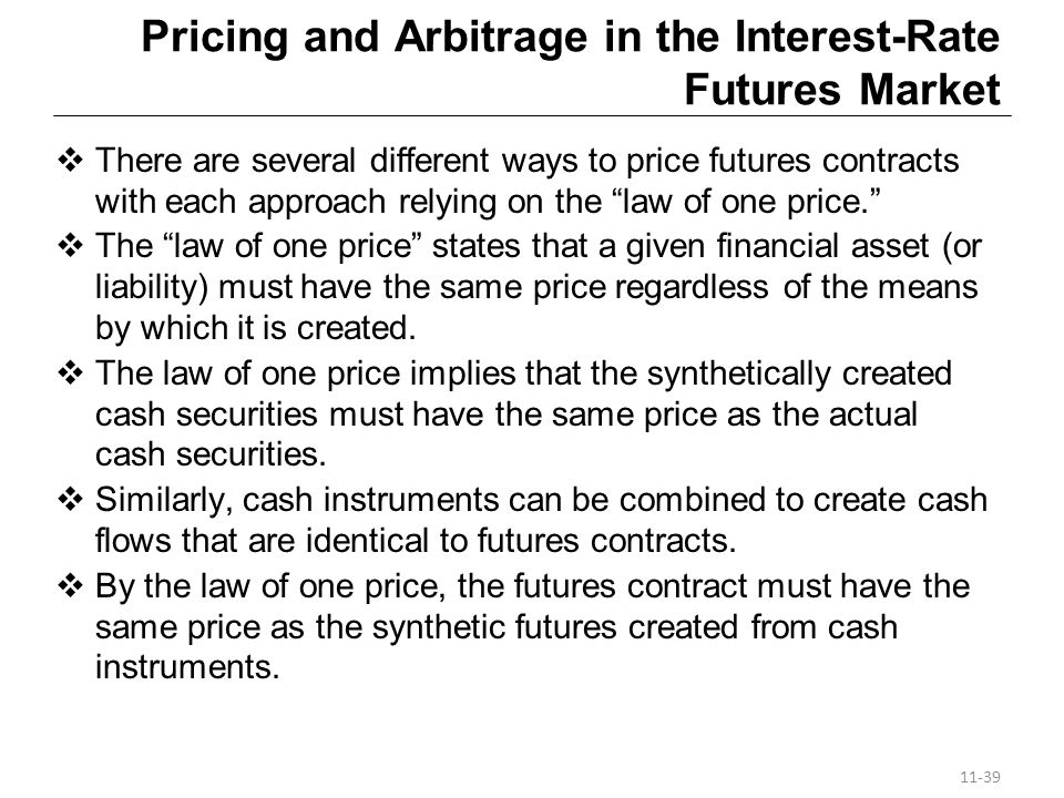 Pricing and Arbitrage in the Interest-Rate Futures Market