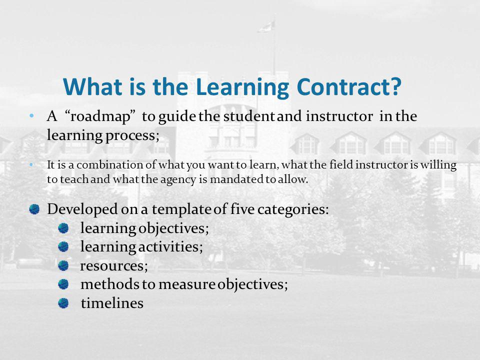 Your Learning Contract  Ppt Video Online Download