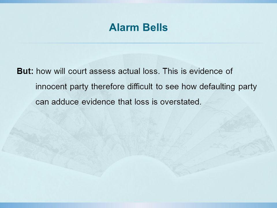 Alarm Bells