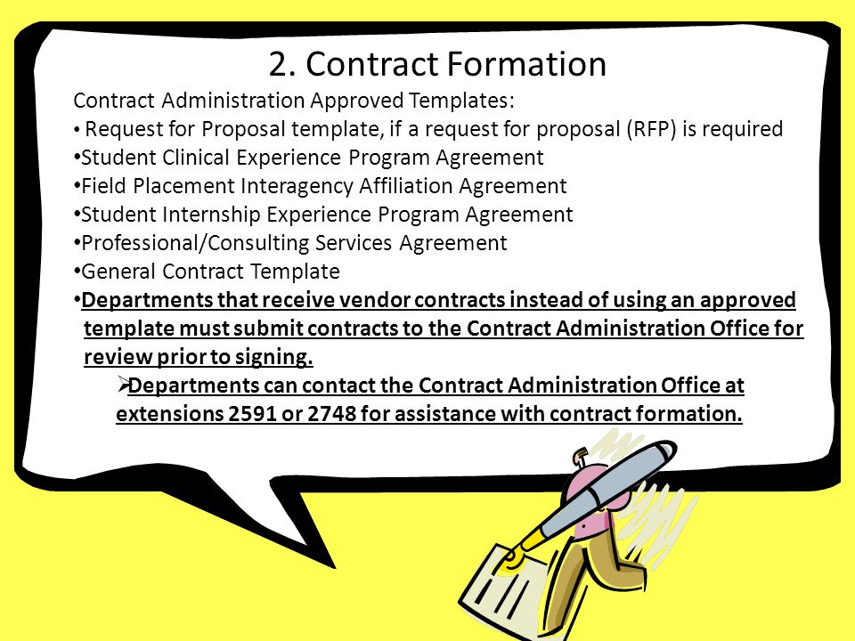 3. Contract Formation 2. Contract Formation