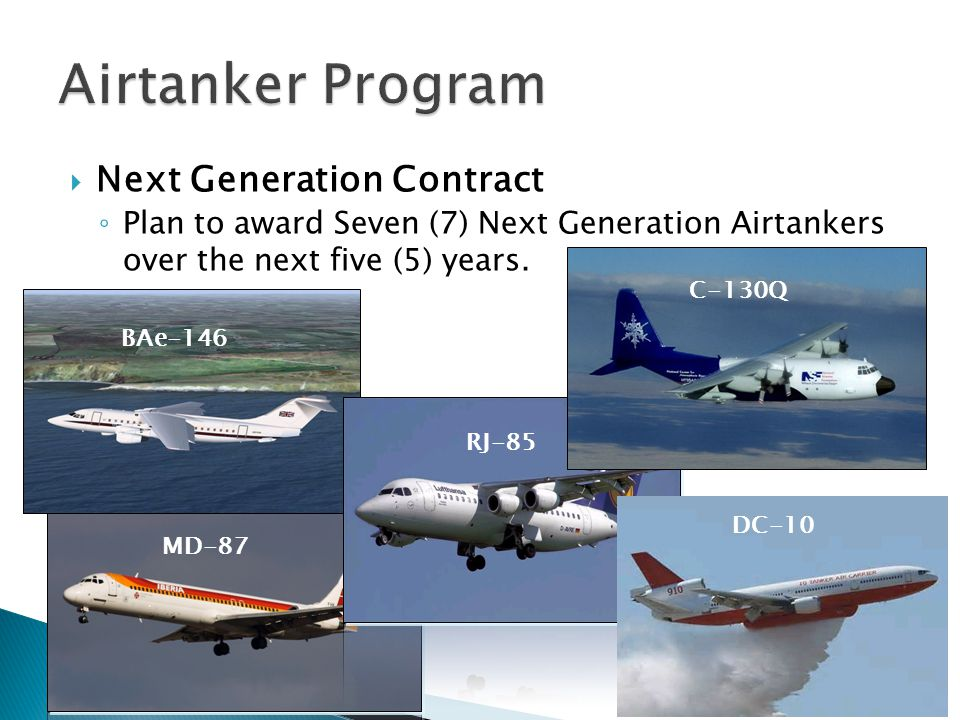 Airtanker Program Next Generation Contract