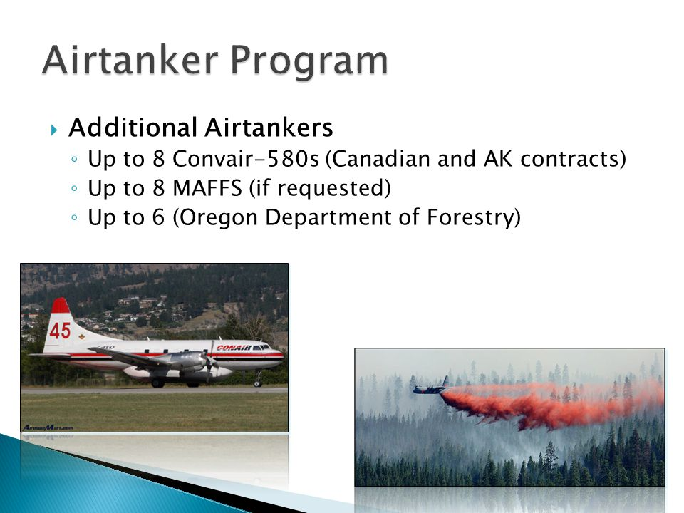Airtanker Program Additional Airtankers