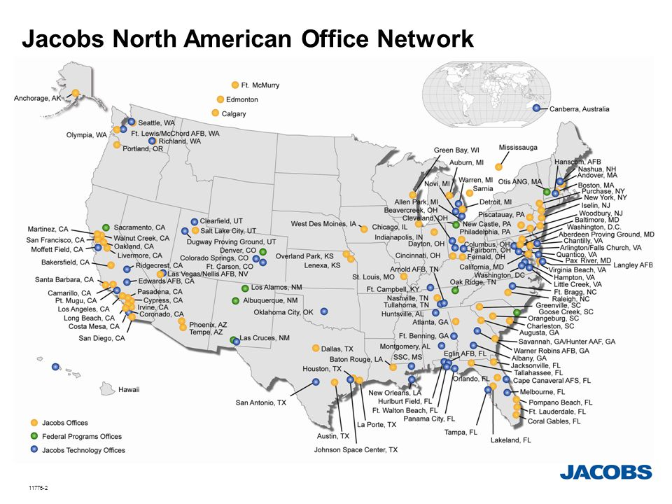 Jacobs North American Office Network