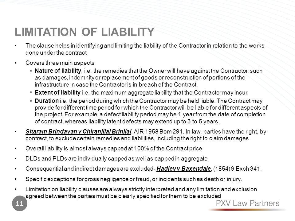 Limitation of liability