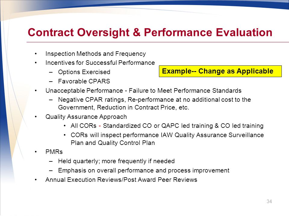 Acquisition strategy briefing template ppt video online for Quality assurance surveillance plan template