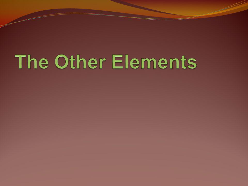 The Other Elements