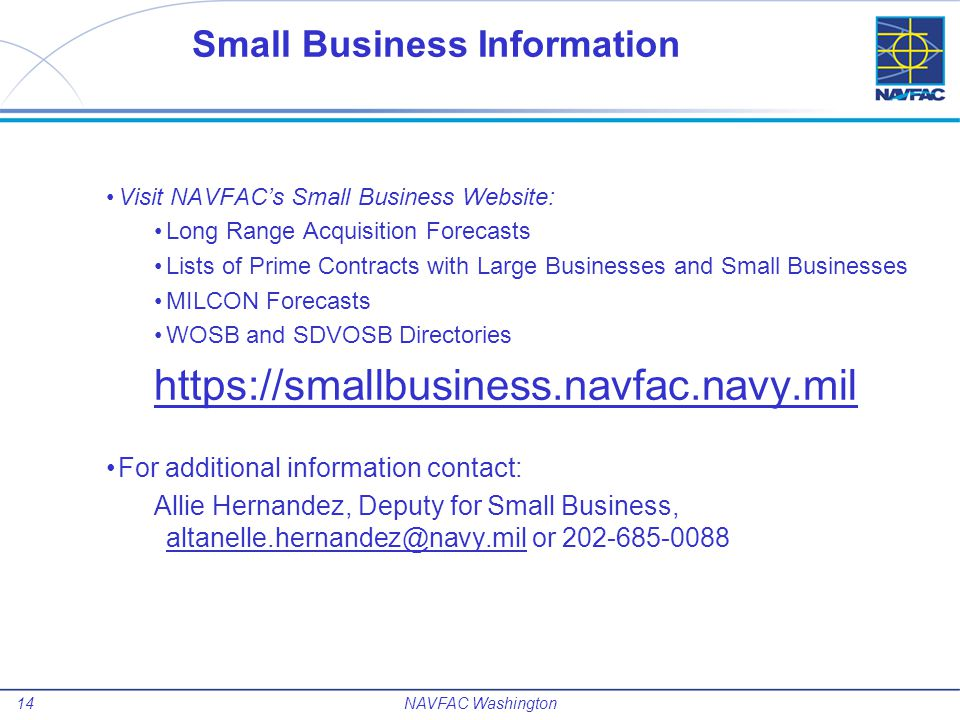 Small Business Information
