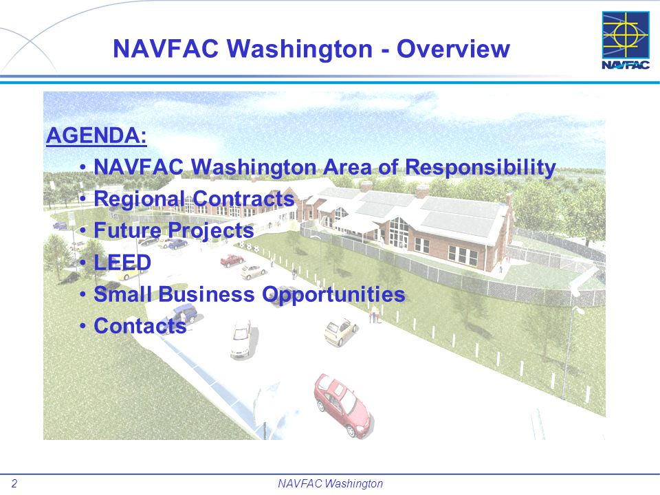 NAVFAC Washington - Overview