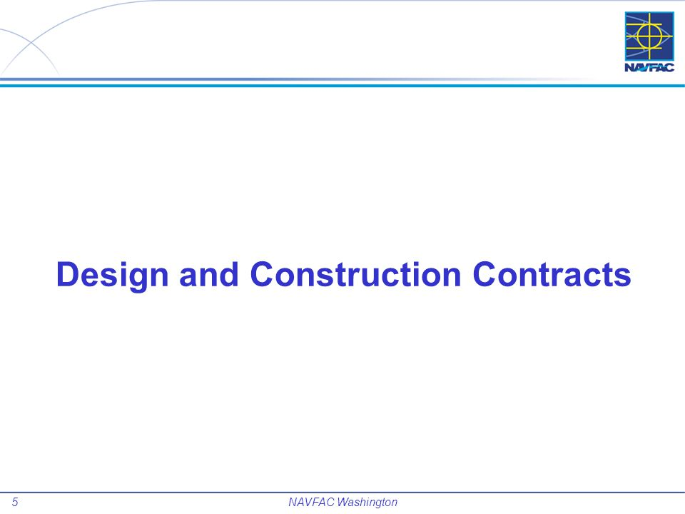 Design and Construction Contracts