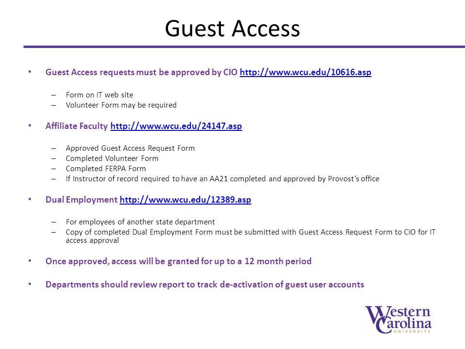 Access Request Form When User Submits The Form An Email Will Be
