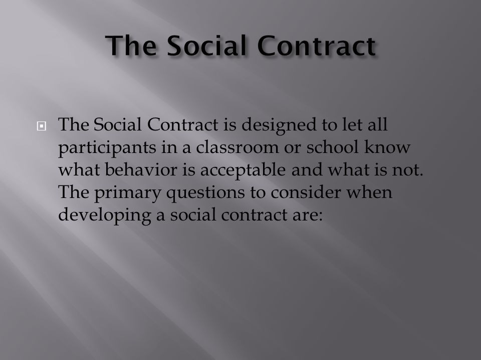 The Social Contract