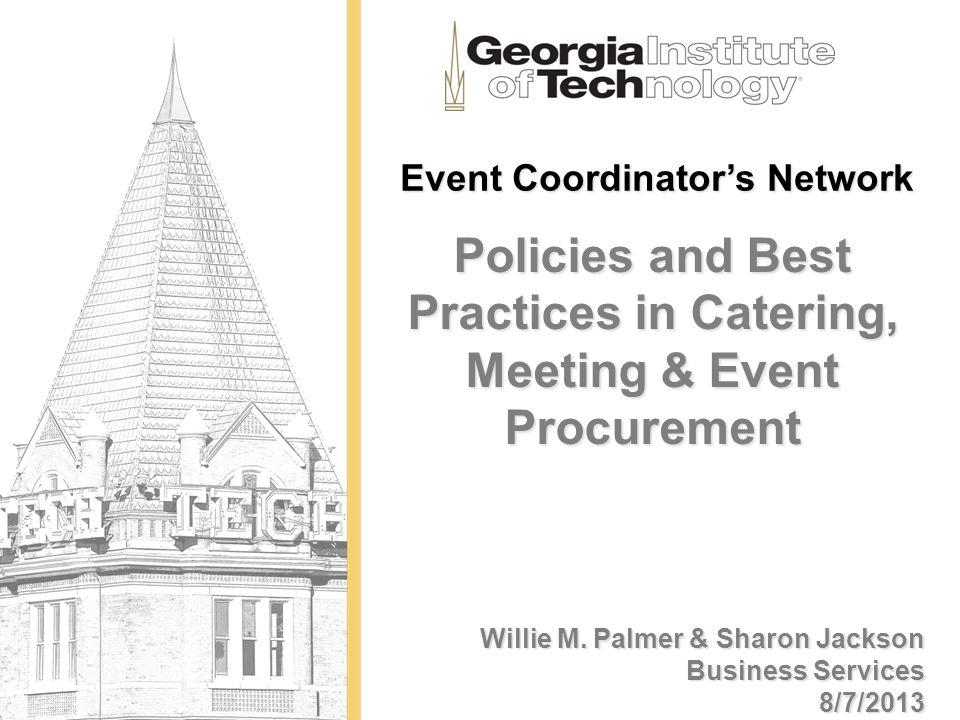 Event Coordinator's Network