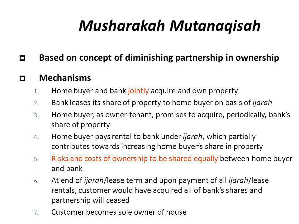Musharakah Mutanaqisah