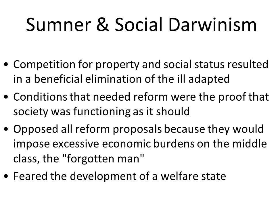 Sumner & Social Darwinism