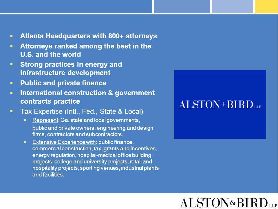 Atlanta Headquarters with 800+ attorneys