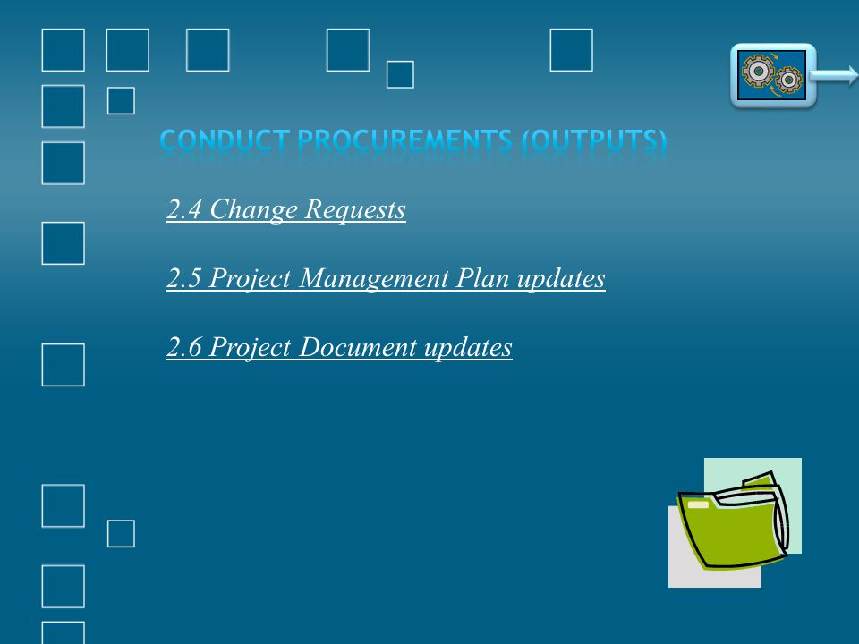 Conduct Procurements (Outputs)