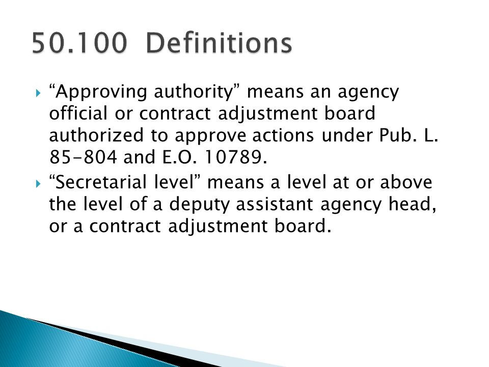 50.100 Definitions