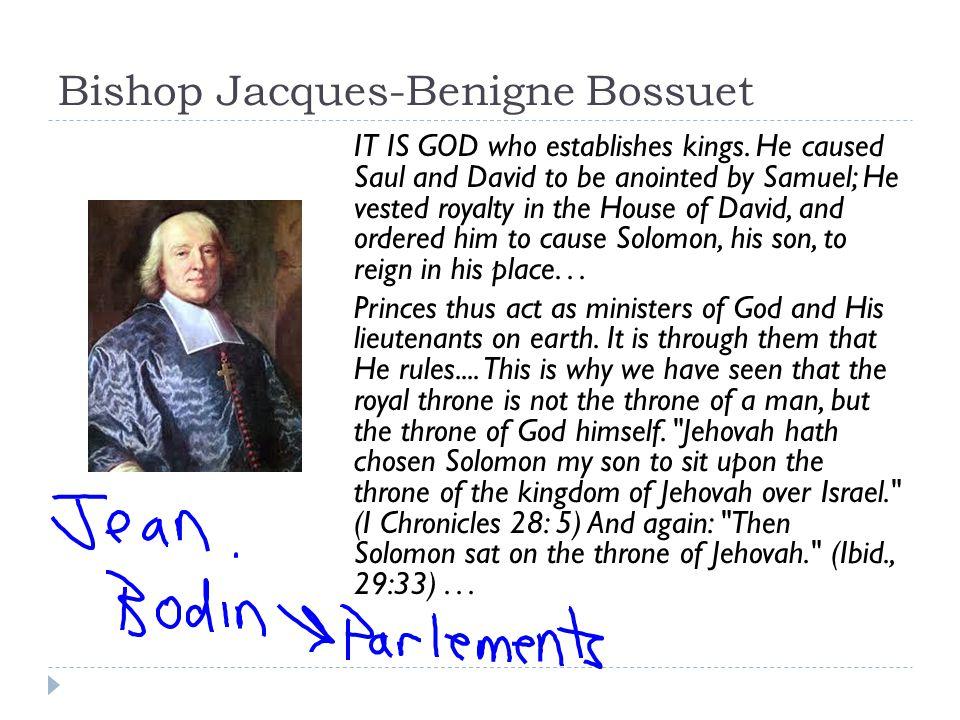 Bishop Jacques-Benigne Bossuet