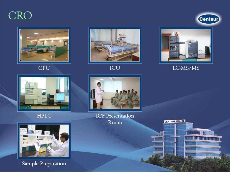 CRO CPU ICU LC-MS/MS HPLC ICF Presentation Room Sample Preparation