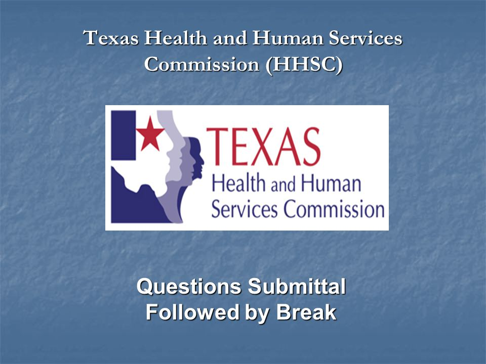 Texas Health and Human Services Commission (HHSC)