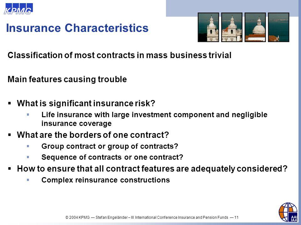 Insurance Characteristics