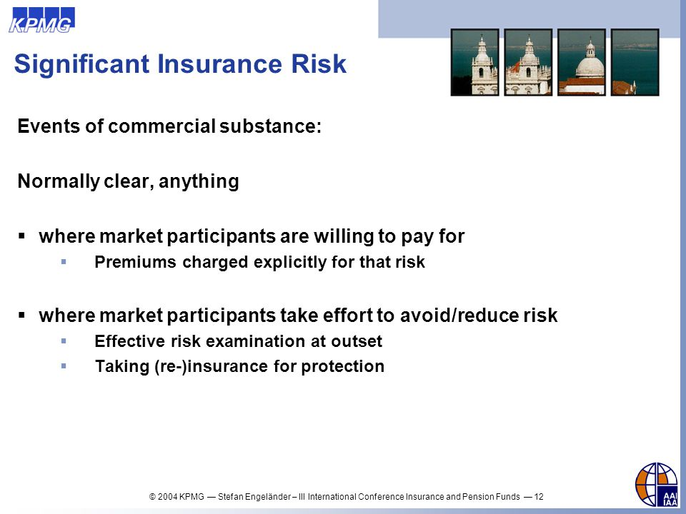 Significant Insurance Risk