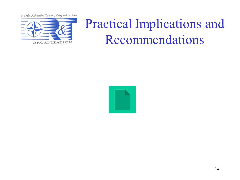 Practical Implications and Recommendations