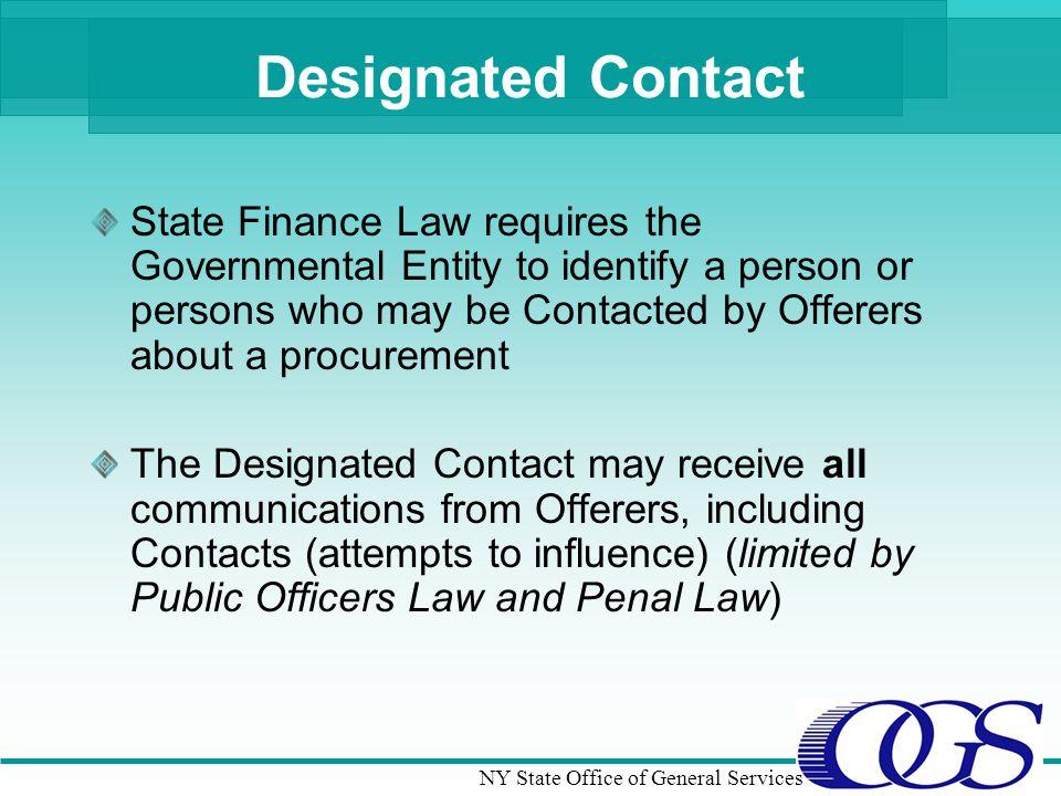 Designated Contact