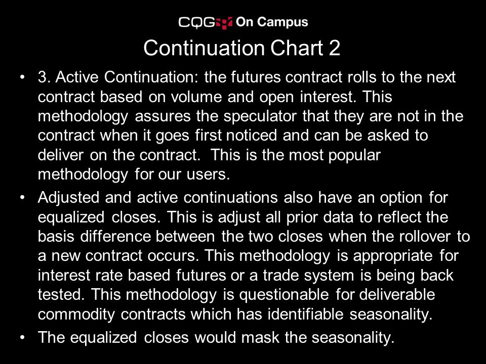Continuation Chart 2