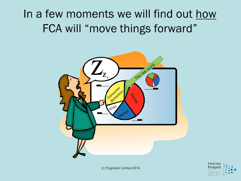 In a few moments we will find out how FCA will move things forward