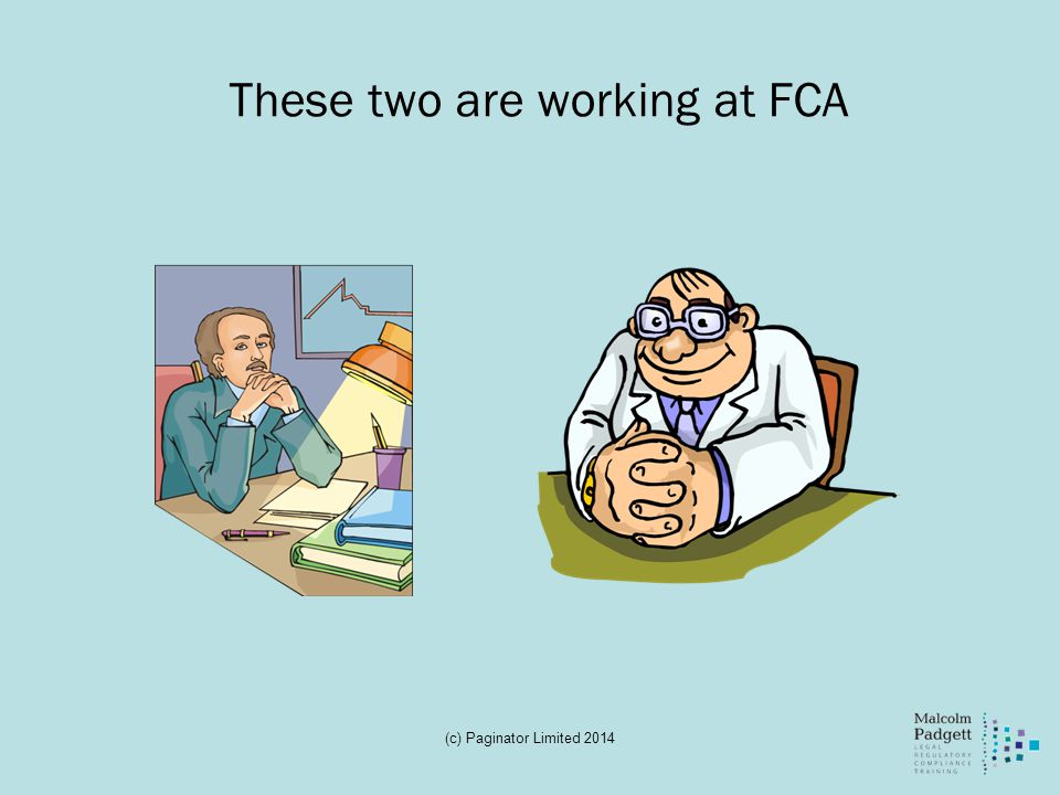 These two are working at FCA