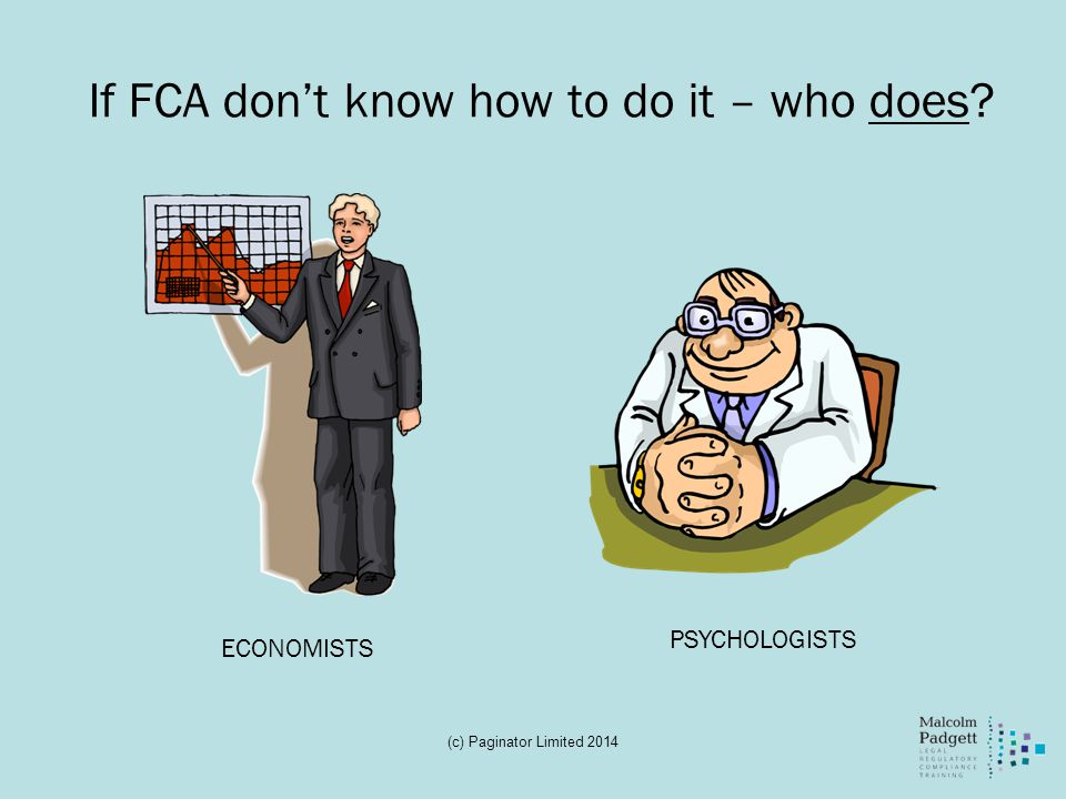 If FCA don't know how to do it – who does